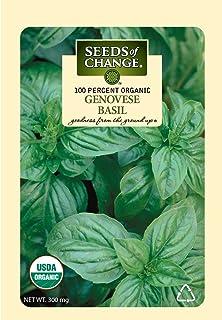 Seeds of Change 06065 Organic Basil, Green