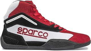 Sparco 00125941RSBI Botines para Karting, Rojo/Blanco, 41