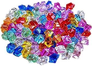 knowing 250g Gemme del Diamante Acrilico,Trasparente Matrimonio Cristallo, Artificiale Diamante Cristallo,per la Decorazio...