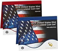 2015 United States Mint 28-Coin P&D Uncirculated Mint Set (U15) OGP Brilliant Uncirculated