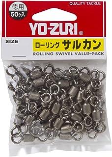 YO-ZURI(ヨーヅリ) 雑品・小物: ローリングサルカン徳用 黒 1号~8号