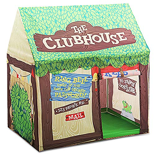 Kid Play Tent Children Playhouse Indoor Outdoor Toy Play House for Boy Girl 2 3 4 5 Years Old Perfect for Birthday Gift, Christmas