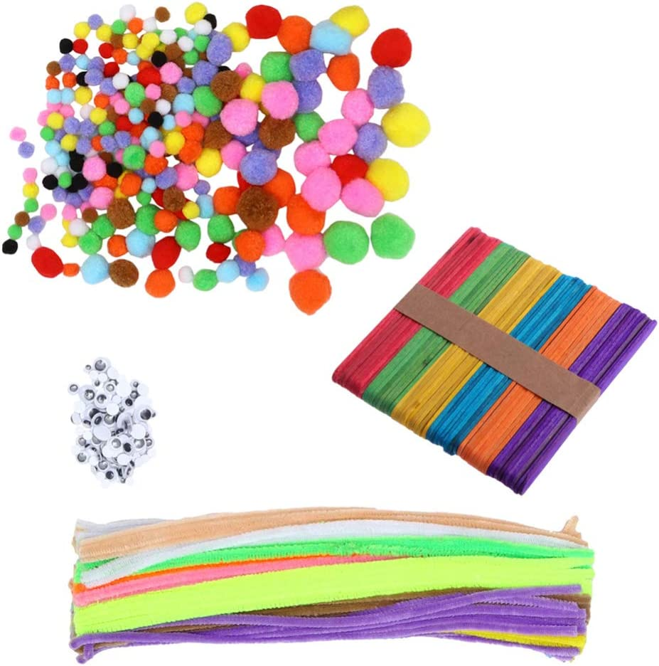 TOYANDONA 550 Pieces Kids DIY Materials Colorfu Gorgeous Plush Twist Cheap mail order specialty store Rods