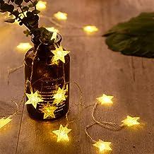 Fairy Stars String Lights 1M-6M 10-40LEDs Battery USB Christmas Halloween Party