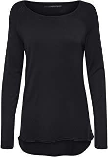 Only Onlmila Lacy L/S Long Pullover Knt T-Shirt Donna