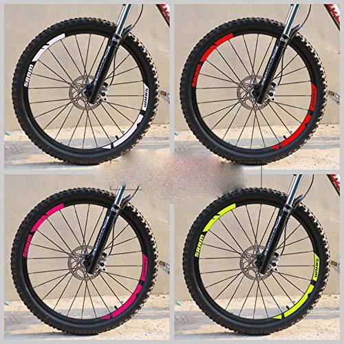 DACCU - Pegatinas para Llantas de Bicicleta de montaña