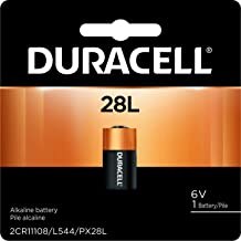 Duracell – 28L 6V Lithium Photo Size Battery – long lasting battery – 1 count