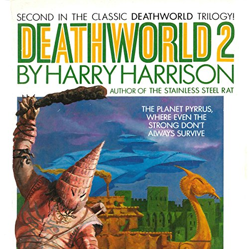 Deathworld 2 audiobook cover art