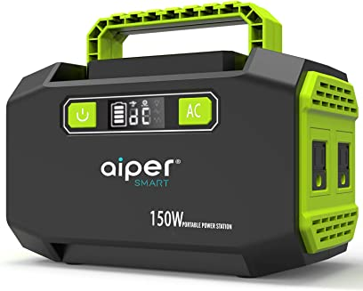 Aiper 150W Portable Power Station 167Wh 45000mAh Lithium Battery Backup Power Supply