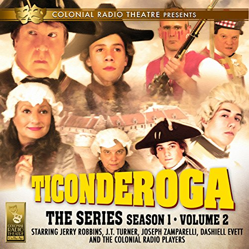 Ticonderoga the Series audiobook cover art