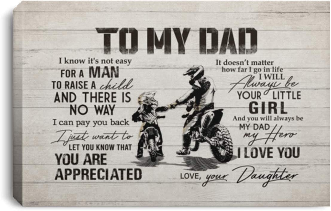 from Daughter to My Dad Not Easy Raise High Charlotte Mall quality Child Dirt Canv A Bike