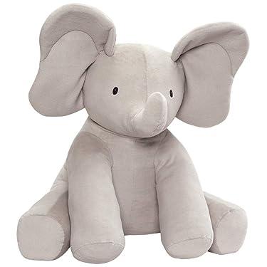 "GUND Baby Jumbo Flappy Plush Stuffed Elephant, 24"", Multicolor"