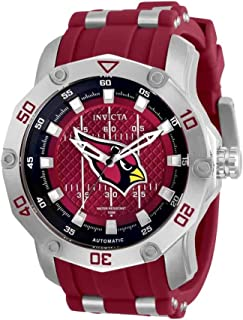 Invicta NFL Arizona Cardinals Automatic Red Dial Men's Watch 32008