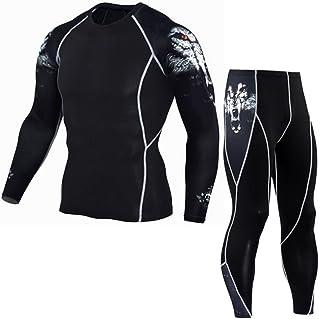 haoricu Men Sport Suit, Man Fitness Sports Gym...
