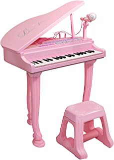 toy baby grand piano with stool set