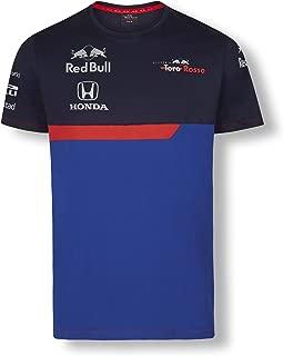 Toro Rosso Official Teamline Camiseta, Azul Hombre Top, STR F1 2019 Original Ropa & Accesorios