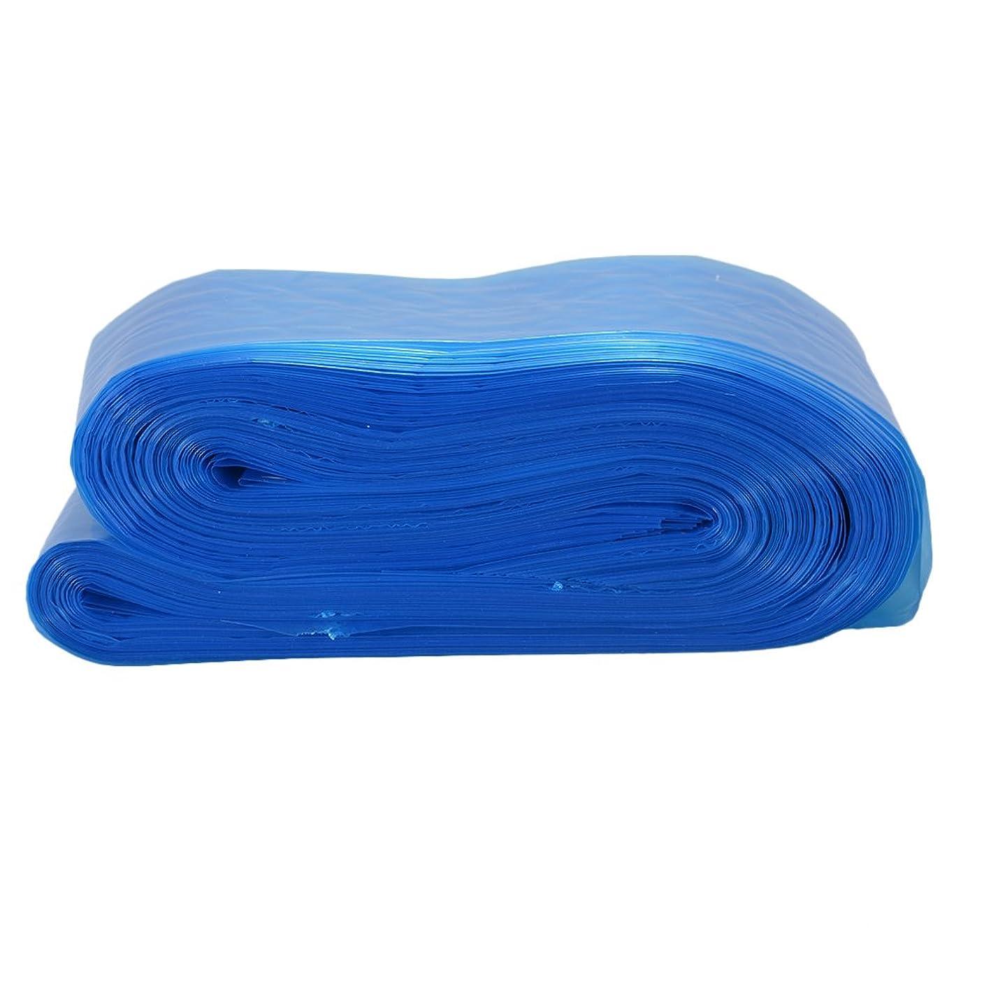 ドリルもつれ行方不明RaiFu タトゥークリップカバー バッグ タトゥーアクセサリー コード スリーブバッグ タトゥーマシンのため 使い捨て プロフェッショナル ブルー 100PCS/パック