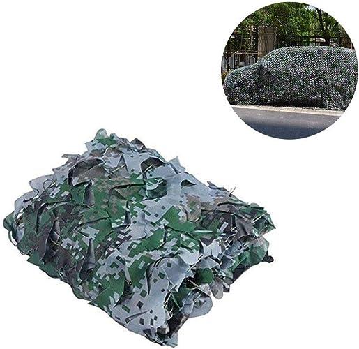 JJWZW Filet de Camouflage Oxford Filet De Camouflage pour Tir Aveugle Observant Cache Chasse Chasse Décoration Militaire Parasol pour Les Jardins d'ombre extérieurs (Taille   8  10m(26.2  32.8FT))