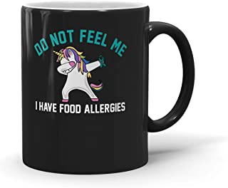 Mug Do Not Feed Me Food Allergy Awareness Gifts Unicorn Ribbon For Men Women 200327 Multi Size/Color - A19UUKC1BL0F7O