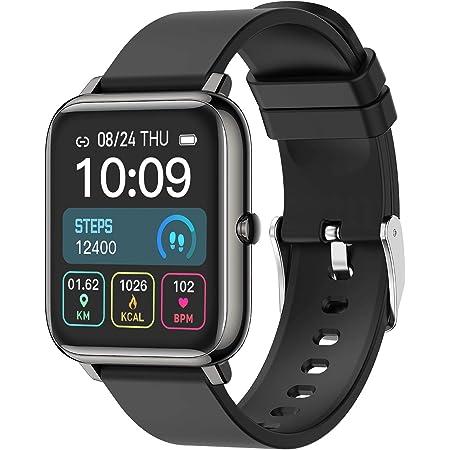 """Smartwatch, 1.4"""" Touch Screen Orologio Fitness Activity Tracker Uomo Donna Sport Smart Watch Contapassi Cardiofrequenzimetro da Polso Cronometro Smartband Notifiche Messaggi Controller Musicale"""
