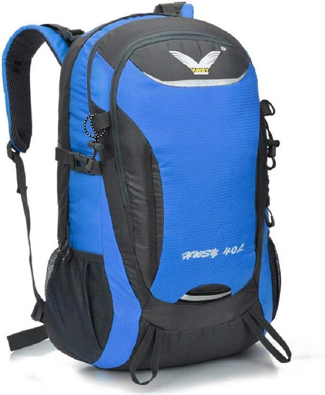 Pureed Backpack 40L Unisex Outdoor Bergsteigen Rucksack Camping Wandern Radfahren Skifahren Urlaub Taschen College Taschen Daypacks Tornister (Farbe   C, Größe   40L) B07Q29MVJS  Nicht so teuer