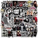 Vampire Diaries Stickers 50pcs Drama Stickers Vampire Diaries Merch