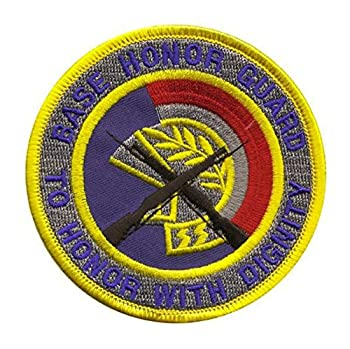 VANGUARD AIR Force Patch  Base Honor Guard - Color with Hook Closure