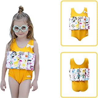 byf Floatation Swimsuits for Toddler Adjustable Buoyancy ,Life Jacket for Kids Boys Girls, Children One-Piece Buoyancy Swimwear ,Swim Aids for Toddlers