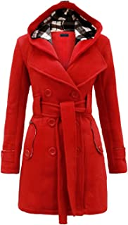 4b35e745ca536 Amazon.com  Plus Size - Wool   Pea Coats   Coats