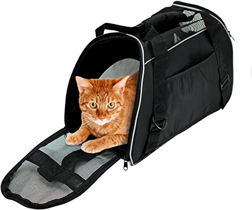 BENCMATE Soft Sided Pet Carrier ,Airline Approved Pet Travel Bags for Cats and Dogs