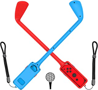 [2021年NEWモデル] マリオゴルフ スーパーラッシュ 対応 コントローラー (Fit Mario Golf Super Rush) For Switch Joy-Con用 マリオゴルフ ロッド 大人と子供 Joy-Con 対応 アクセサリ...