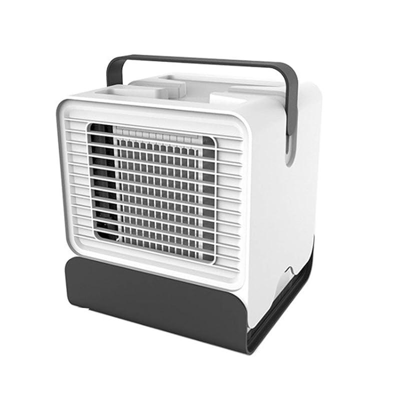 白い寝室の功妙なより涼しいファンLEDのための小型エアコンの涼しい冷却ファン、白