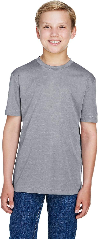 TEAM 365 Sonic Heather Performance T-Shirt (TT11HY)