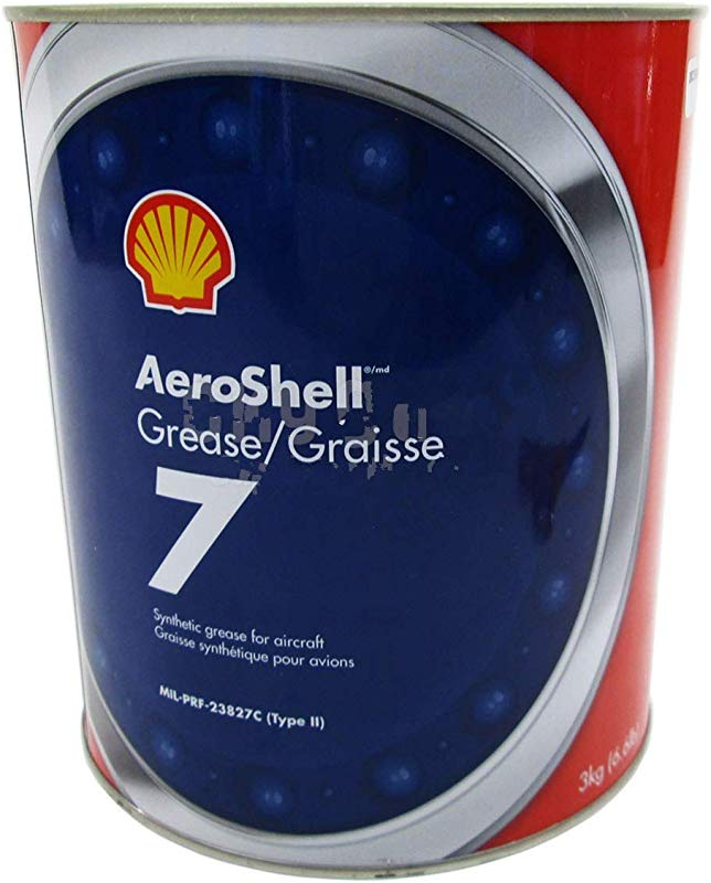 AeroShell Grease 7 Multi Purpose Synthetic Aircraft Grease 3 Kg 6 6 Lb Can