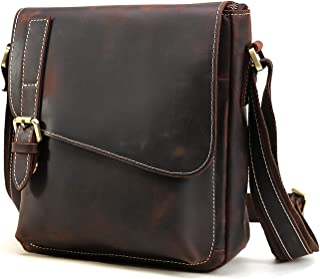 MSKW ショルダーバッグ メンズ 本革 牛革 斜め掛けバッグ メッセンジャーバッグ 鞄 通勤 通学