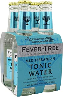 Fever Tree Mediterranean Tonic Water, 6.8 Fluid Ounce - 24 per case.