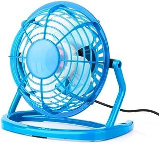 VANKER - Ventilador USB | Ventilador de Mesa/Ventilador portatil/Ventilador para PC (Azul)