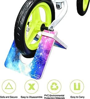 Mewtwo Kid's Balance Bike Stand, Foldable Portable Bike Parking Rack Balance Bicycle kickstand for 10