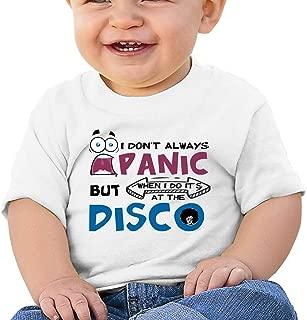 2-6 Years Old Kcloer24 Dont Panic Its Organic Boys/&Girls Organic T-Shirt Short Sleeve Tee