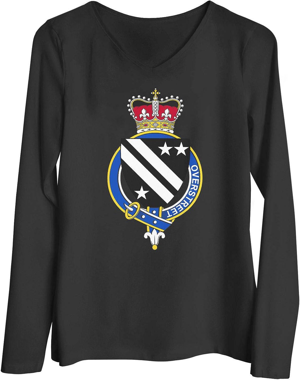 HARD EDGE DESIGN Women's English Garter Family Overstreet T-Shirt