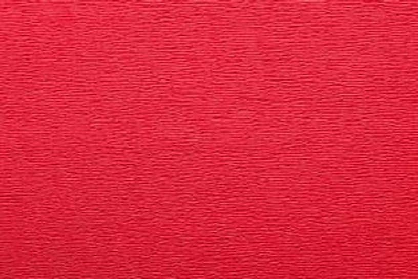 Crepe Paper Roll, Premium Italian Extra Fine 60 g, 13.3 sqft, Vivo Red