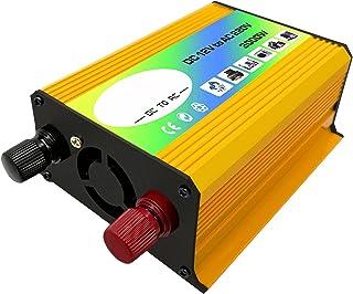 balikha 3000W DC 12V para AC 220V Inversor de Energia para Carro Transformador Inversor de Carro de Onda Senoidal para Tra...