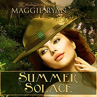 Summer Solace audiobook cover art