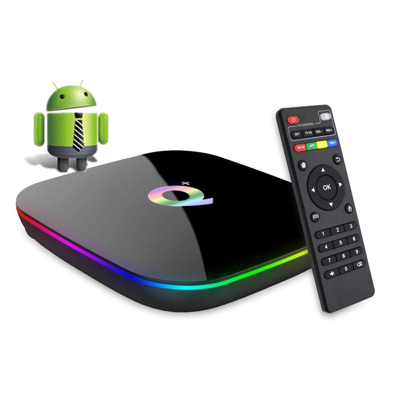 DeWEISN Android 9.0 TV Box, Q Plus Smart Box 4GB RAM 32GB ROM H6 Quad-Core