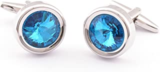 swarovski crystal cufflinks uk