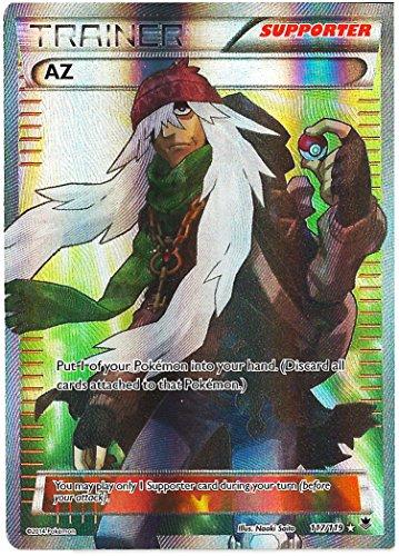 Pokemon AZ Full Art Trainer Xy Phantom Forces 117/119