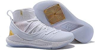 Men's UA Curry 5 Hight Top Basketball Sport Shoes