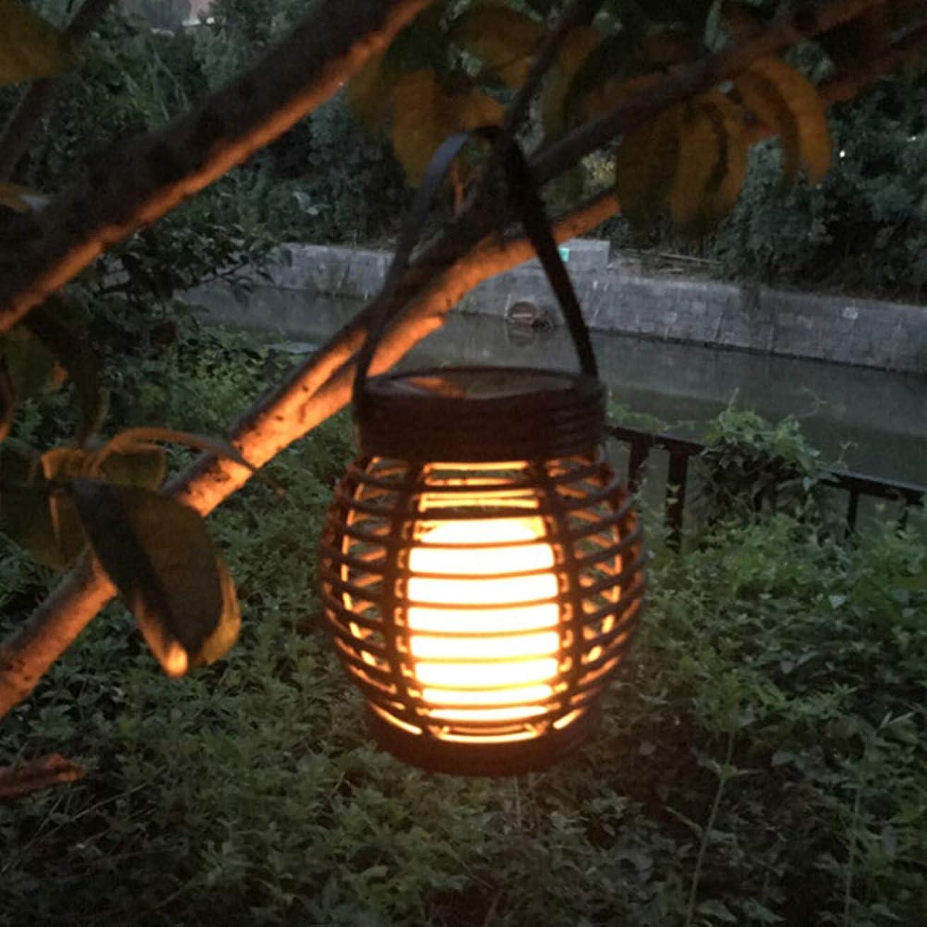の配列柔らかさ床を掃除するRaiFu キャンドル ランタン LED ガーデン ヤード 屋外装飾 ソーラー 街路灯 ライト