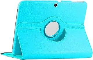 ebestStar - Funda Compatible con Samsung Galaxy Tab 3 10.1 GT-P5210, 10 P5200 P5220 Carcasa Cuero PU, Giratoria 360 Grados, Función de Soporte, Azul [Aparato: 243.1 x 176.1 x 8mm, 10.1'']