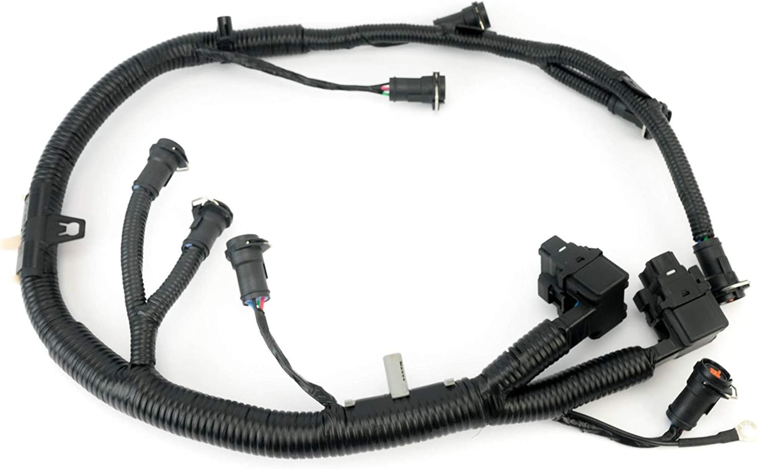 ficm engine fuel injector complete wire harness - replaces part 5c3z9d930a  - fits ford powerstroke 6.0l diesel - 2003, 2004, 2005, 2006, 2007 f250  f350 f450 f550 2004-2005 ford excursion : automotive - amazon.com  amazon.com